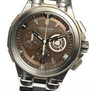 Concord C2 Chronograph 04.6.14.1071 Brown Dial Automatic Menand039s Watch_565765