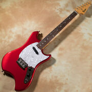 Fender Made In Japan Limited Swinger 1p.u Lacquer Finish Carcandy Apple Red