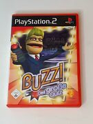 Buzz The Big Quiz Playstation 2 Ps2 Pal 2006 German Version Complete Usa Seller