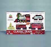 Premier New Series Battery-operated Classic Train Set With Sounds And Locomotive