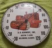 Vintage C 1950s Allis Chalmers Advertising Pam Thermometer Free Sandh Make Offer