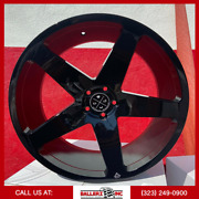 22 Blaque Diamond Bd-15 Wheel And Tire Tis Lexani 24 Forgiato Asanti Dub Gianelle