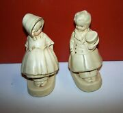 Coventry Ware Chalkware Book Ends