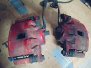 94-01 Integra Stoptech Brake Calipers W/ Braided Line And Pads