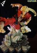 Street Fighter Kinetiquettes Figure Ken Master Statue Limited Collectible