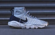 Nike Air Footscape Magista Flyknit Uk 8 Eur 42.5 Us 9 Wolf Grey Woven Htm Max 1