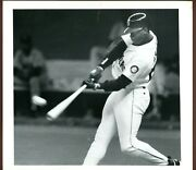Ken Griffey Jr Mariners The Seattle Times Type 1 Photo 2nd Home Run Of Game 1993