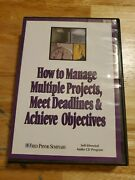 How To Manage Multiple Projects Meet Deadlines And Achieve Objectives Ab Jackson