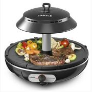 Zaigle Mini Zg-d321 Infrared Ray Well-being Roaster Indoor Electric Bbq Grill