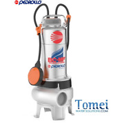 Double Channel Submersible Pump Sewage Water Bcm15/50-mf 15hp 240v Pedrollo