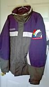 Albuquerque 2001 Hot Air Balloon Fiesta Chase Cr. Patch Lined Columbia Jacket Xl