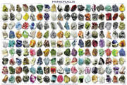 Minerals Educational Poster 36.5x24.5 - Laminated
