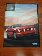2008 Ford Mustang 36-page Sales Car Brochure Catalog Gt Shelby Gt500 Convertible