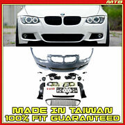 Left Right Side Fog Lights Front Bumper M Sport Style For Bmw 3-series E92 11-13