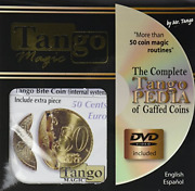 Mms Bite Coin - Euro 50 Cent With Dvd - Internal With Extra Piece By Tango -
