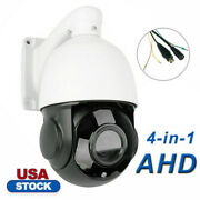 30x 4.5and039and039 Zoom 4in1 Ahd/tvi/cvi/cvbs 1080p 2.0mp Ptz Speed Dome Ir Camera Night