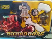 Tomy Battroborg 20 Minute Quick Charge Motion Controlled Gold Robot. New In Box