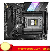 For Msi Creator Trx40 Motherboard Support 3960x 3970x 3990x Cpu 100 Test Work