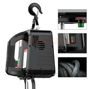 Us 110v Electric Hoist Winch 1100lb 500kg Pulling Tool 7.6mand Wireless Controller