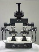 Forensics Metallurgical Medical Microscope W Camera For Image Comparison High Po
