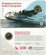 2020 Qantas 100 Years Centenary 1 Coin - Empire Flying Boat - From Mint Set