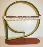 Tin Toy Antique Arcade Action Snap A Loop Marble Shooter