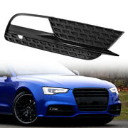 Car Right Side Fog Light Grille Lamp Cover 8t0807682h For Audi A5 12-16