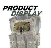 New Tactical Front Panel Elastic Cord Magnetic Buckle Molle Phone Holder Carrier