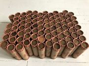 Estate Sale Rolls Of Unsearched Wheat Pennies Circulated Ag-au Nice Rolls