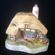 David Winter Cottages Ashe Cottage Mib Coa  Special Guild Piece Signed