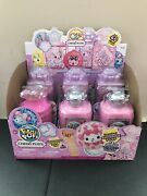 Pikmi Pop Surprise Cheeki Puffs Lot Of 6 With Display Case Brand New Sealed