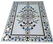 Marble Coffee Table Top Mosaic Art Center Table With Decent Look For Home Decor