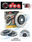 Dba T3 Slotted Disc Brake Rotors For Holden Commodore Incl Ute Dba4040s Front