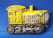 Yellow Vintage Train Tractor Car - Vehicle Resin Refrigerator Magnet Sale