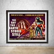 Limited Edition The Day The Earth Stood Still Movie Poster