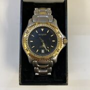 Wittnauer Men's Ttc Two Tone Longlife Diver 100m Watch