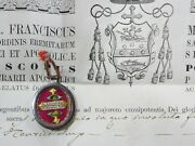 ✝ Reliquary Relic St. Anthony The Great St. Henry Emperor + Document