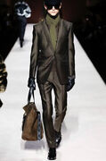 Tom Ford Dark Military Mohair Silk Atticus Jacket -with Tags- Rrp5014 Aud