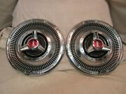 Pair Of 1966 Plymouth Satellite Gtx Fury Belvedere 14 Inch Wheelcovers