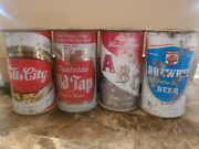 Falls City Old Tap Abc Drewrys Flat Top Beer Cans