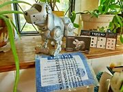 Tekno The Robotic Puppy V2.0 Interactive Manley Quest Battery Operated Complete