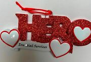 Hero Essential Services Pandemic Corona Personalized Christmas Ornament