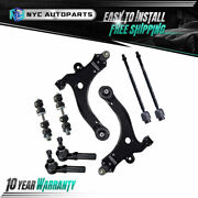 Front Lower Control Arm Suspension Kit 8pc For Chevy Impala Regal Grand Prix