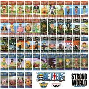 One Piece Wcf World Collectable Figure Strong World Complete Set Ver.1 2 3 4 5 6