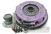 Xtreme H/duty Twin Plate Organic For Ford Bf Xr-6t Inc Flywheel + Csc 10/05-4/08