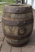 🔥wow Rare Antique Early 1900s Jacob Ruppert Ny Brewery Wooden Beer Barrel Keg