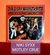 Jon And The Nightriders Live At Whiskey Sealed Hype Nikki Sixx 33 Rpm Record Lp