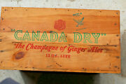 Nra Canada Dry Wooden Box