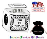 New Authentic S925 Sterling Silver Pandora Scent Perfume Bottle Charm