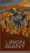 The Iron Giant Mondo Art Print Poster By Laurent Durieux 393/425